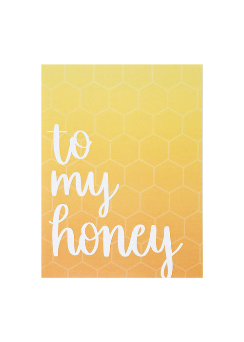 to my honey card