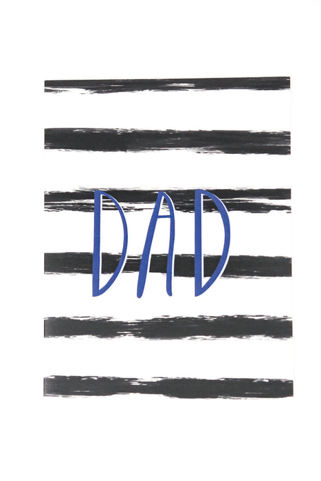 stripes dad card