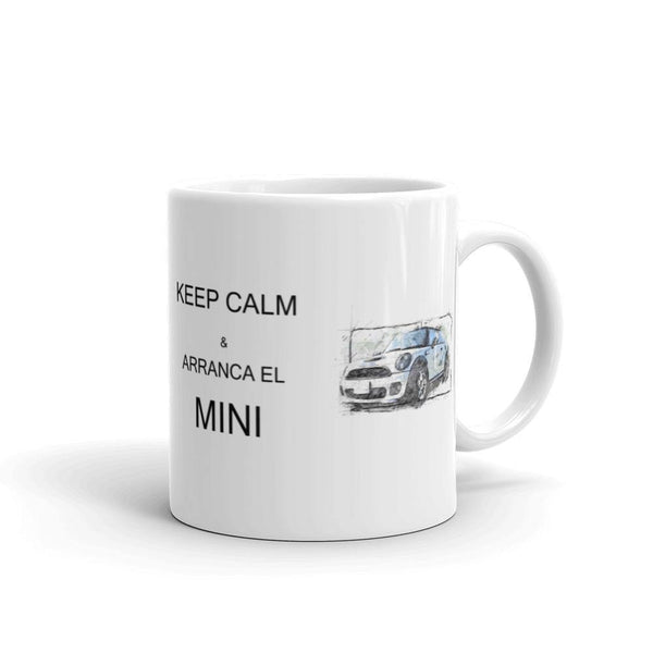 Taza Mini Cooper - camisetasautos