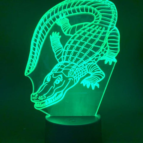 Lampe crocodile réaliste | Univers Crocodile | Peluches