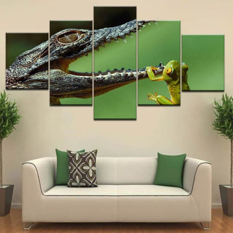 Tableau de bébé crocodile | Univers Crocodile | Boutique N°1