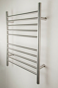 "Amba RWP-SB Radiant Plug-In Straight Towel Warmer, Brushed W 23"" H 31.5"""
