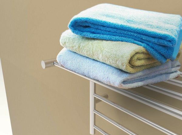 "Amba RSH-P Radiant Shelf Towel Warmer, Polished W 23 5/8"" H 19 1/8"""