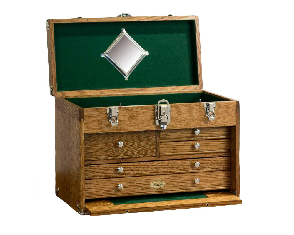 Gerstner USA 1805 Retro Chest for Personal Collections & Valuables, Hobby Supplies, Jewelry Box