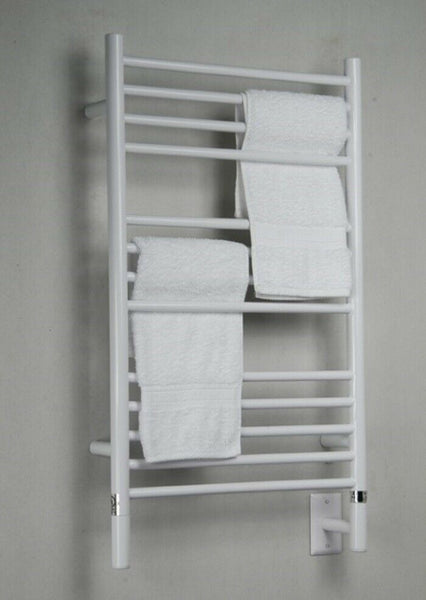 "Amba Jeeves C Straight Hardwired Towel Warmer With Programmable Timer W21"" H36"""