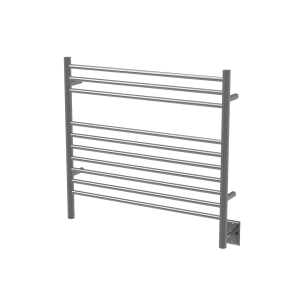 "Amba Jeeves K Straight Hardwired Towel Warmer 10 Bars, W 30"" H 27"""