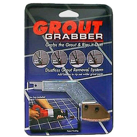 Grout Grabber Kit - Adapter & 1 Blade