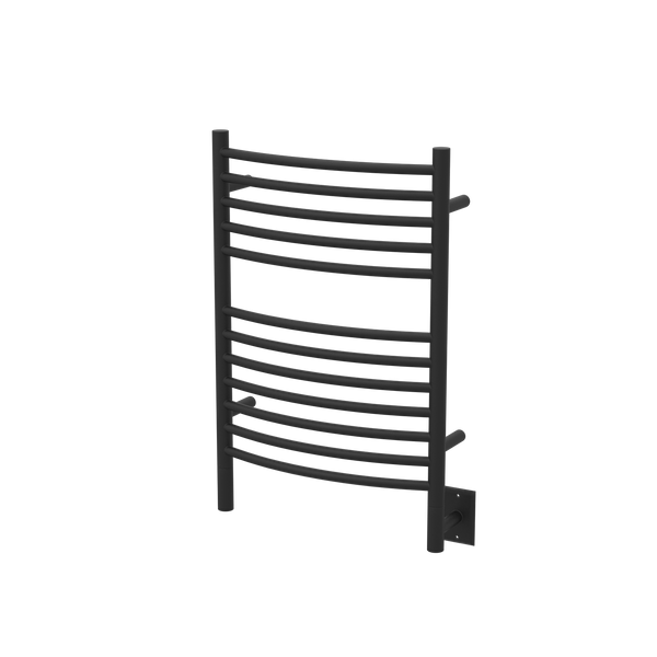 "Amba Jeeves E Curved Hardwired Towel Warmer 12 Bars, W 21"" H 31"""