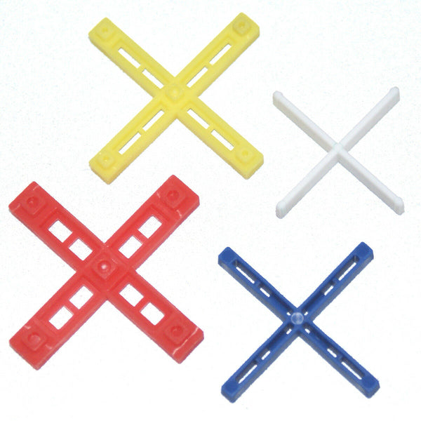 "Tile Spacers, RTC Ultimate ""X"" and ""T"" Shape Leave-In Spacers for Tile Alignment"
