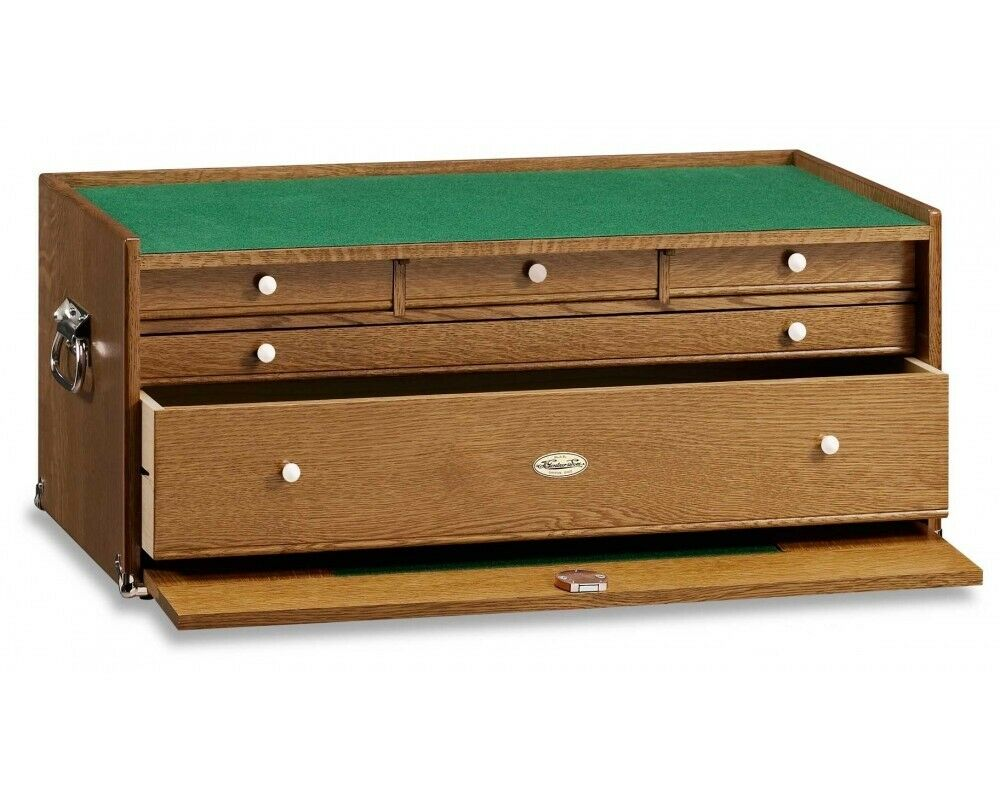 Gerstner B2705 Base Chest for Tools, Collectibles & Jewelry Wood Chest