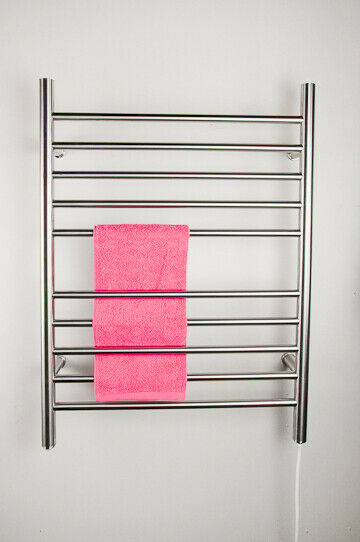 "Amba RWP-SP Radiant Plug-In Straight Towel Warmer, Polished W 23"" H 31.5"""