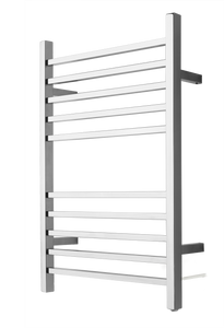 "Amba RSWP-P Plug-In Radiant Square Towel Warmer, Polished W 23 5/8"" H 31.5"""