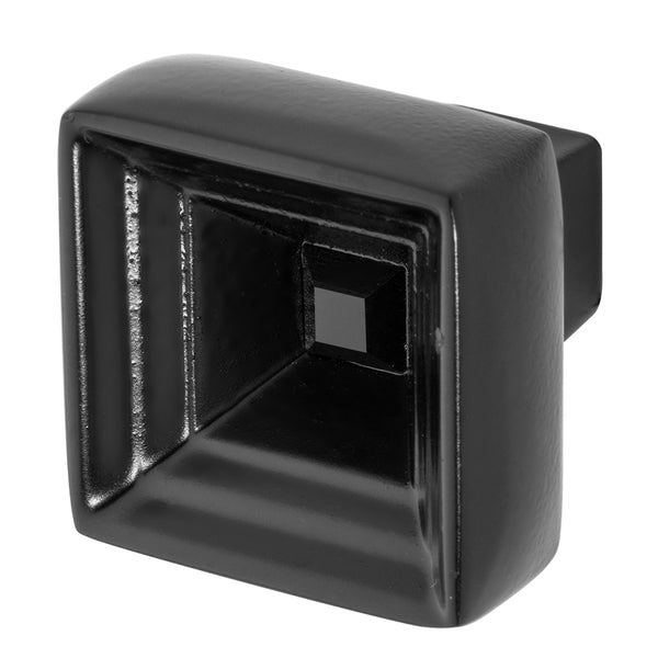 Black Cabinet Knob With Crystal, Hidden Treasure by Wisdom Stone