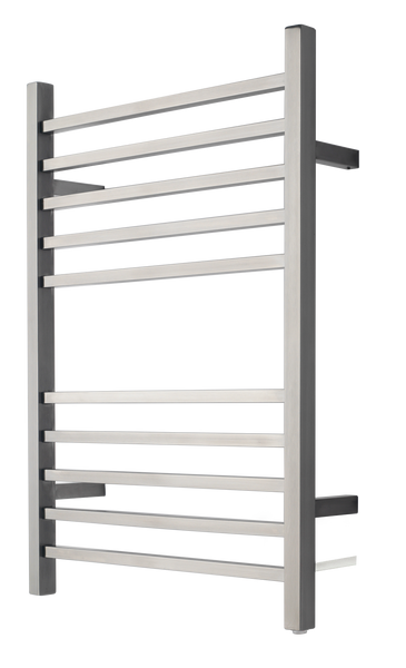 "Amba RSWP-B Plug-In Radiant Square Towel Warmer, Brushed W 23 5/8"" H 31.5"""