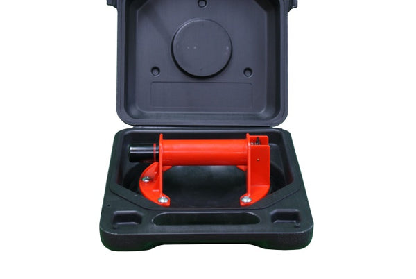 "8"" Power Pro Suction Cup for Tile with Carrying Case"