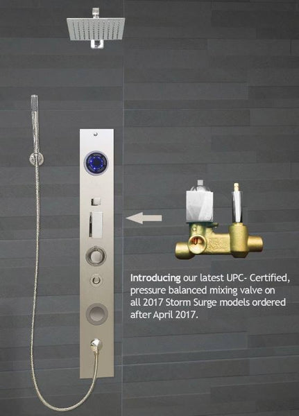 Serene Steam Shower Steam Unit, Shower Storm Surge Model