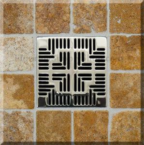 Ebbe Shower Drains Grate Navajo