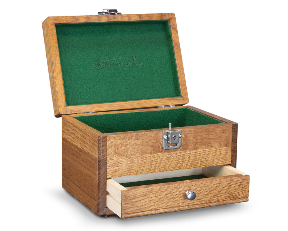 Gerstner J1001 Wooden Watch Box & Jewelry Box