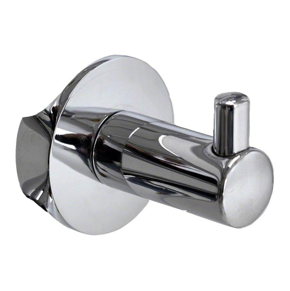 Mr. Steam RHOOK PC Single Robe Hook in Polished Chrome