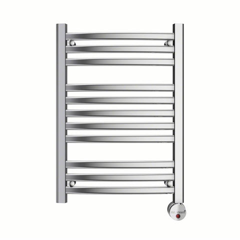 Mr. Steam W228TPC 11-Bar Wall Mounted Towel Warmer with Digital Timer & Aromatherapy Oil Well