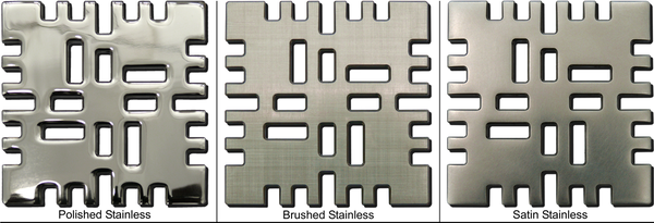 Ebbe Unique Square Shower Drain - Grate Metro