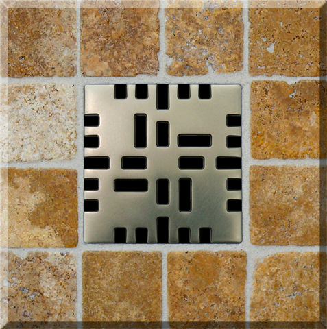 Ebbe Unique Shower Drain Grate Metro