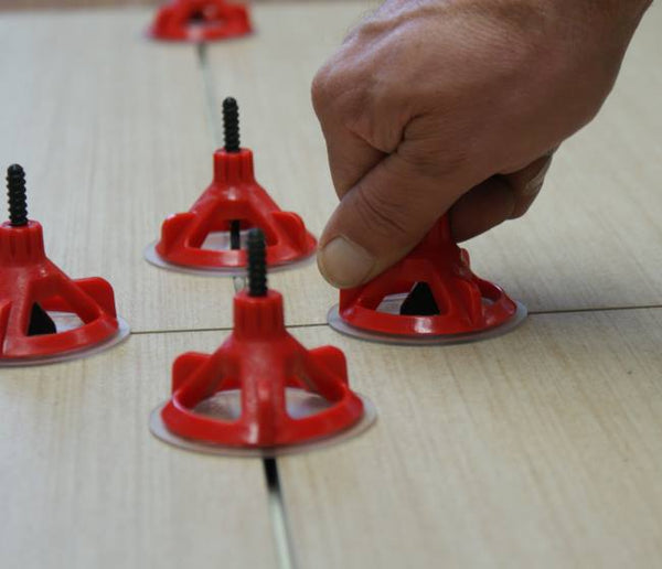"Spin Doctor Tile Leveling System 1/32"" Red Post 250pc"