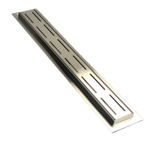 SereneDrains 30 Inch Linear Shower Drain Parallel Design