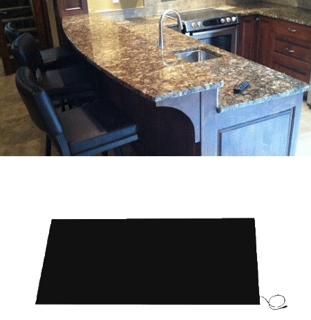 Countertop Heater For Kitchen And Bar