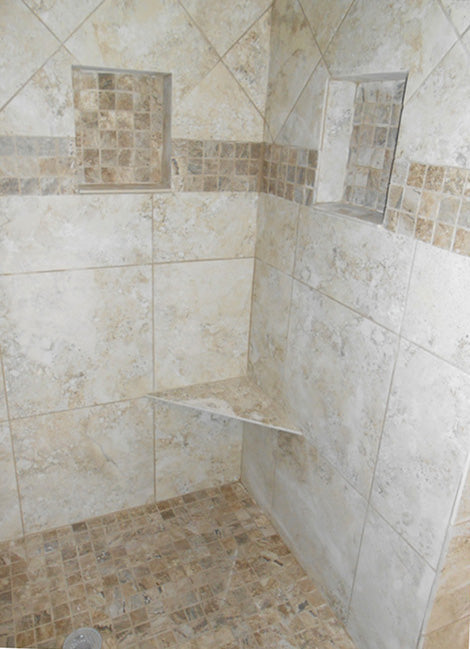 Tile Shower Seat