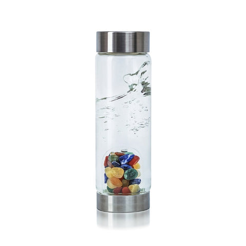 VitaJuwel ViA Gem Water Bottles With GemPod Crystals - Focus