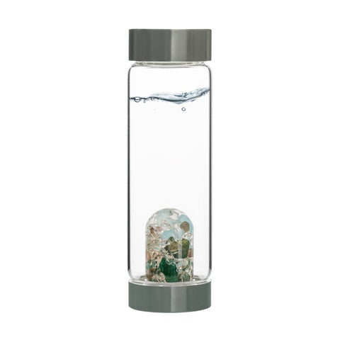 VitaJuwel ViA Gem Water Bottles With GemPod Crystals - Forever Young