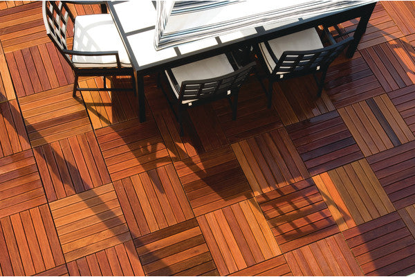 Teak Wood Floor Mat