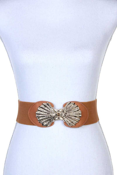 Metal Buckle Stretch Belt