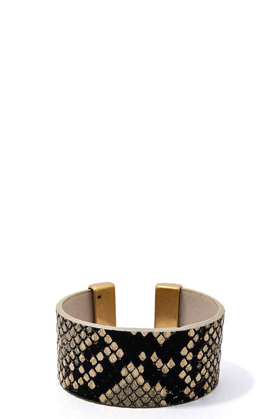 Chic Leopard Fur Fashion Bangle