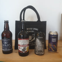 Load image into Gallery viewer, Jute Bag and Beer Gift Set