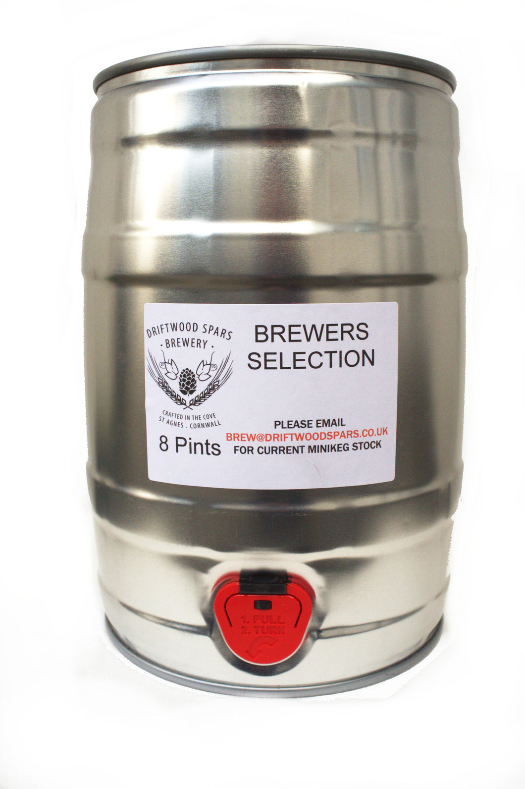 Belgian Pale 5 Litre Minikeg - Cask style beer at home!