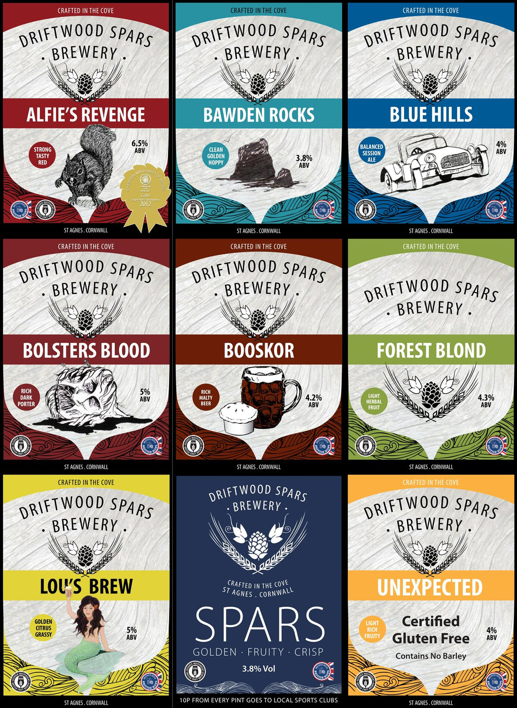 Driftwood Spars Brewery Selection Pack