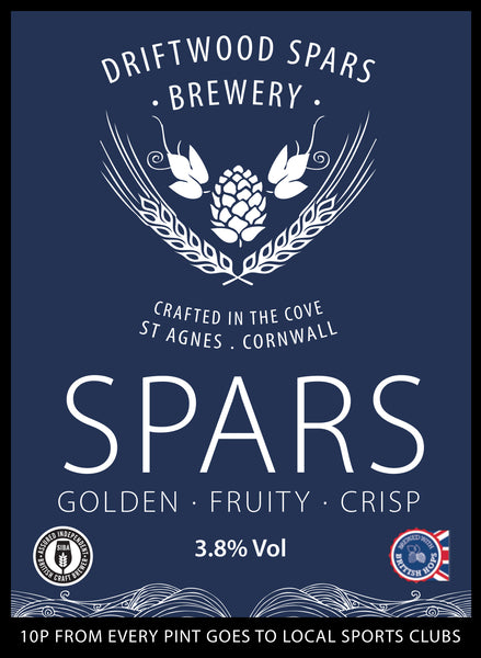 Spars bottle conditioned real ale