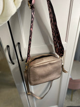 Load image into Gallery viewer, Rose Gold crossbody bag
