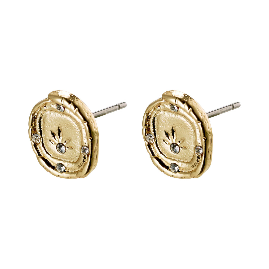 Gold Feelings of LA Stud Earrings
