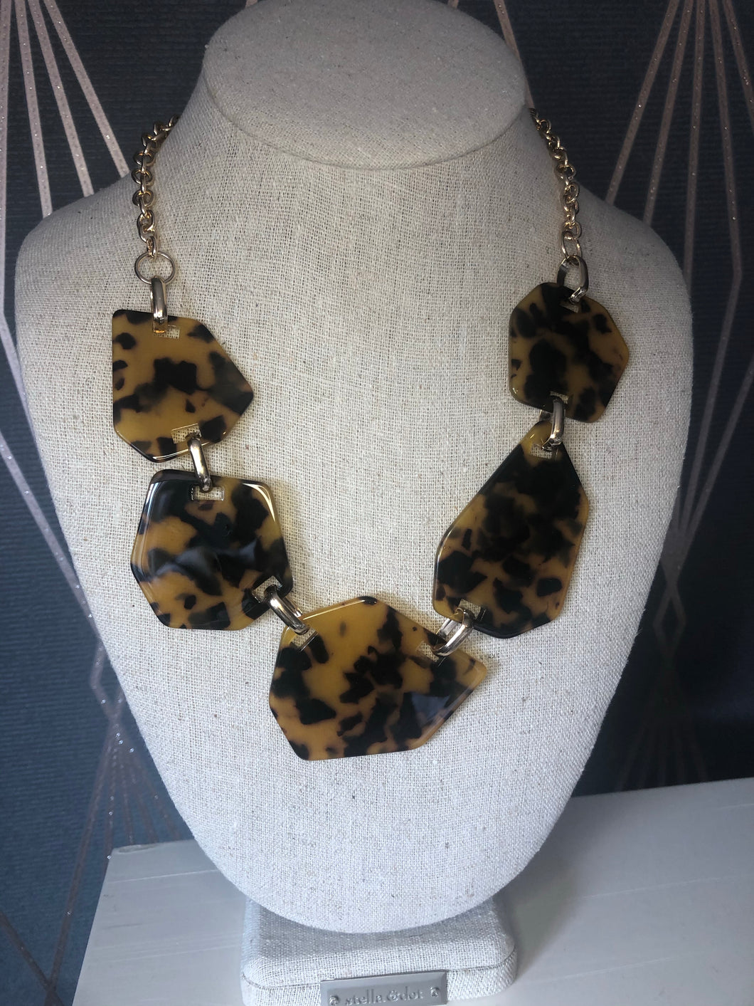 Resin Animalistic Statement Necklace