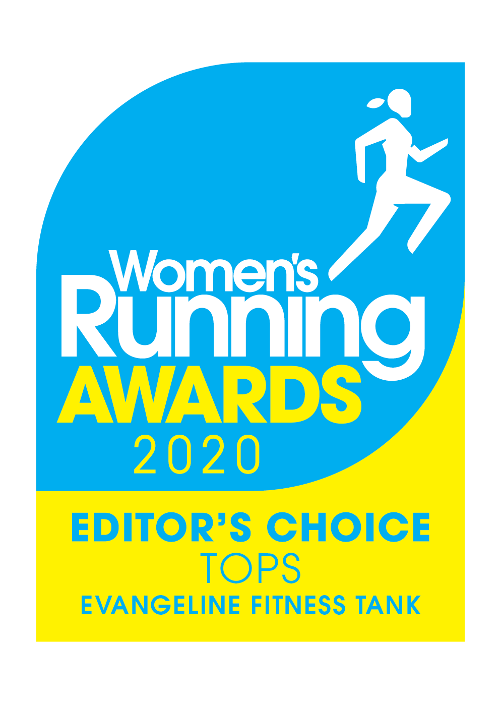 Women's Running Awards 2020 - Editor's Choice Tops - Evangeline Fitness Tank