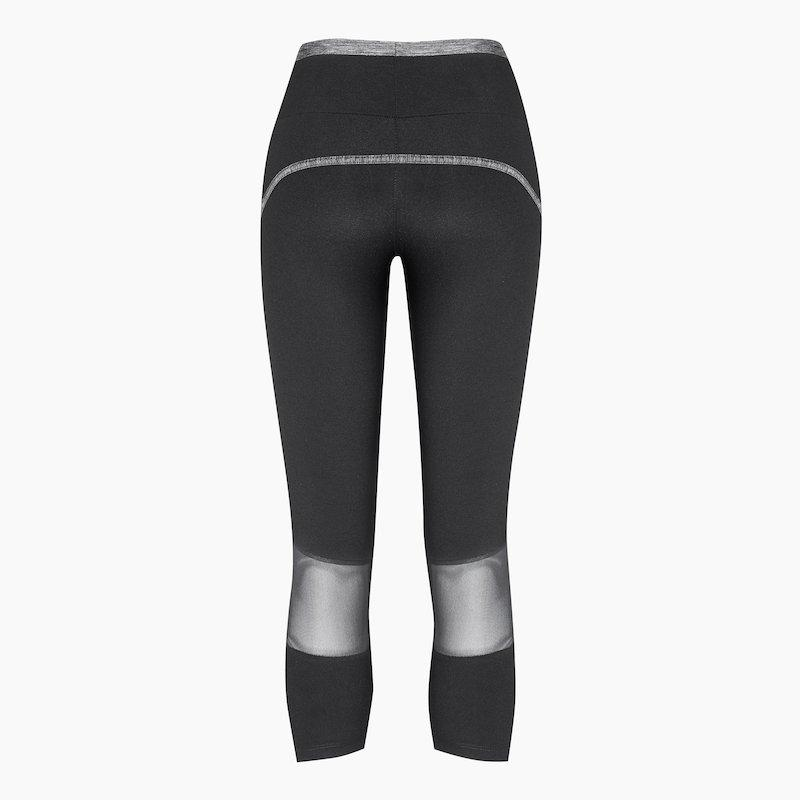 Load image into Gallery viewer, ZAAZEE Adele 3/4 Capri Legging Jet Black