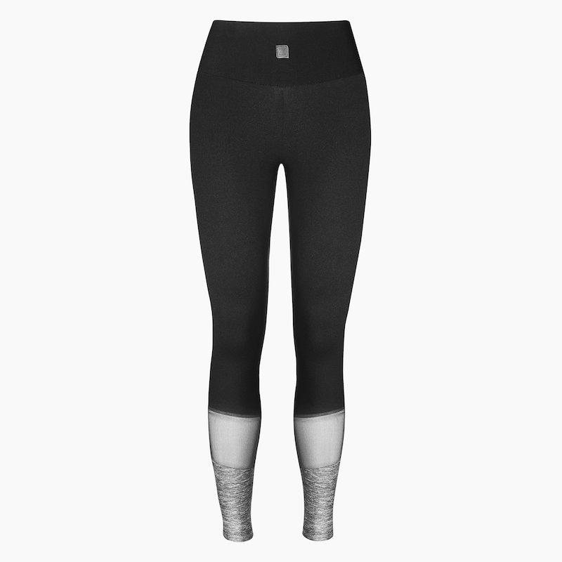 ZAAZEE Alys Full Length Legging Jet Black / Anthracite Grey