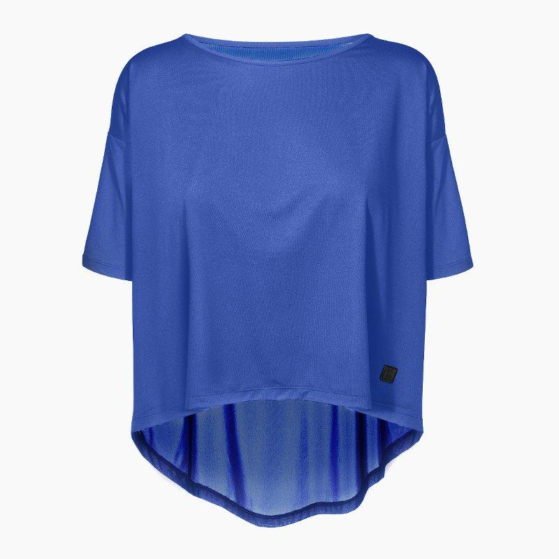 ZAAZEE Alyssa Half Sleeved Top Strong Blue