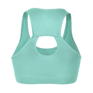 Load image into Gallery viewer, ZAAZEE Esme Padded Sports Bra Mint Green