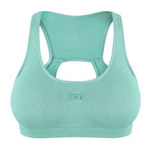 ZAAZEE Esme Padded Sports Bra Mint Green