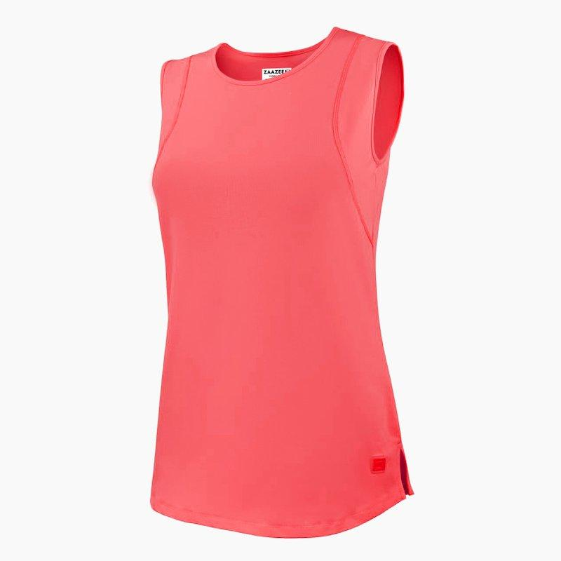 Load image into Gallery viewer, ZAAZEE Evangeline Fitness Vest Coral Pink