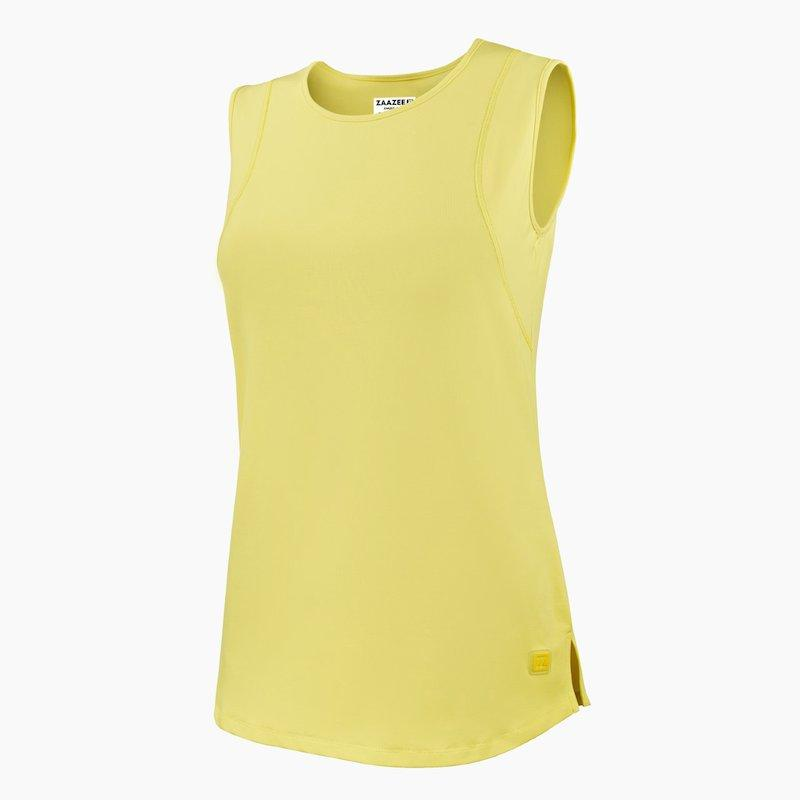 Load image into Gallery viewer, ZAAZEE Evangeline Fitness Vest Limoncello Yellow